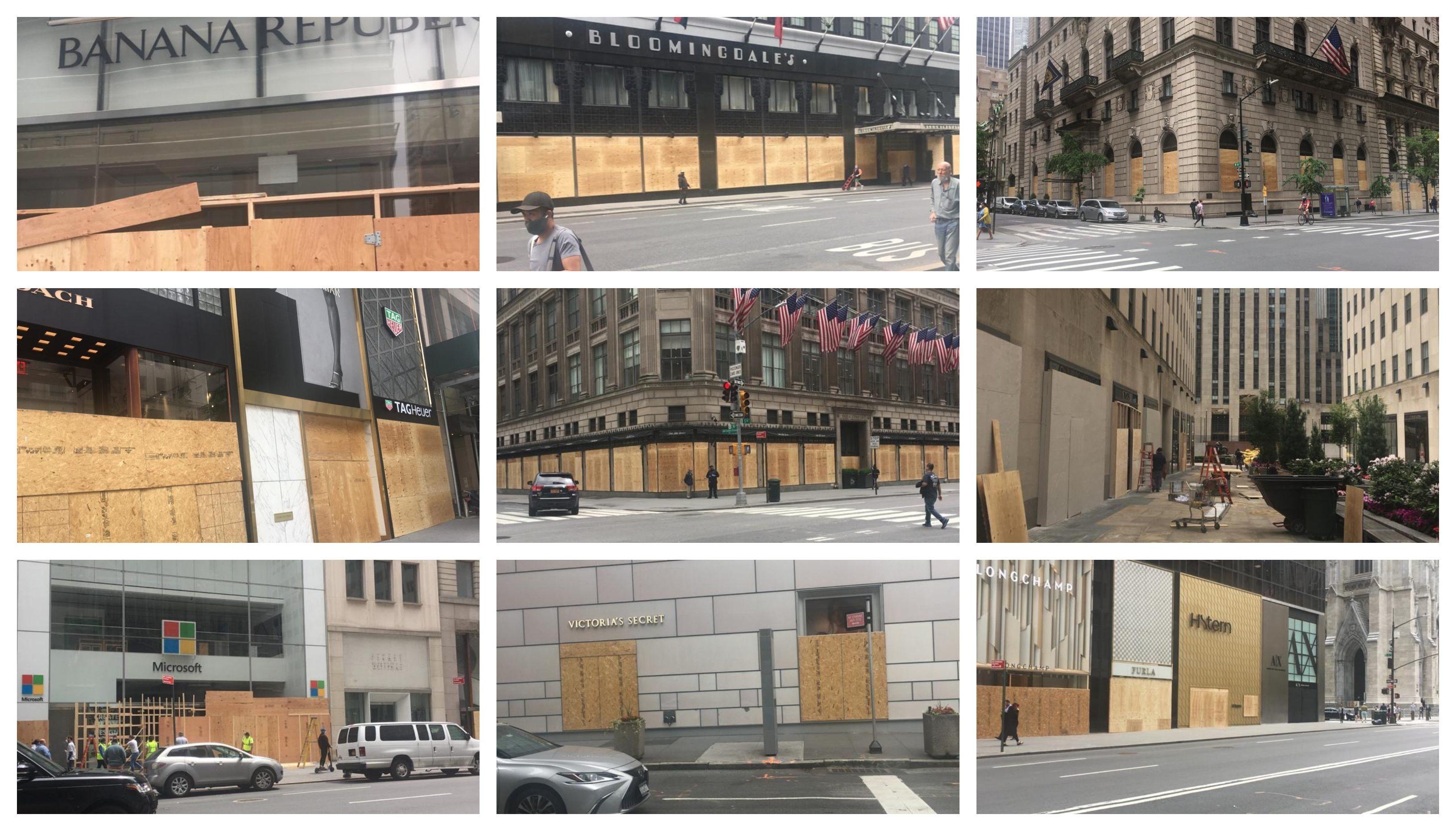 Čitaoci šalju: Svi izlozi u Njujorku zabarikadirani