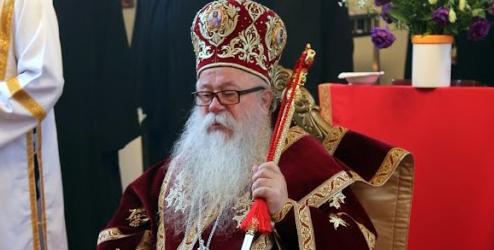 Mitropolit Hrizostom koji predsjedava Sinodom SPC zaražen koronavirusom