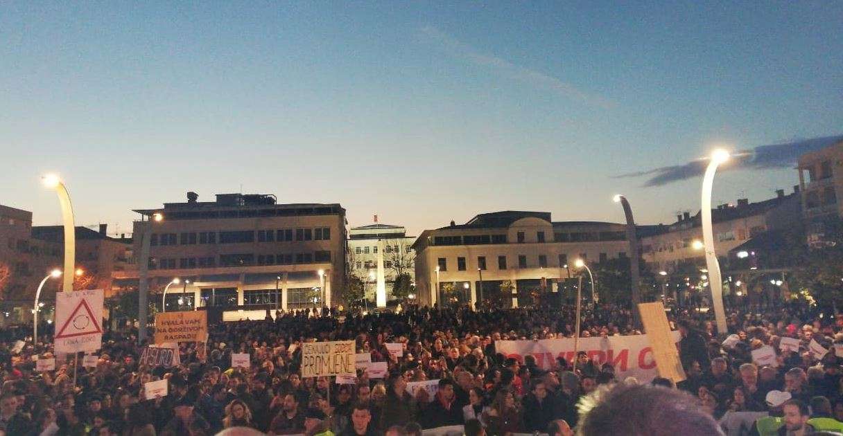 Organizatori protesta: Da sve protekne mirno, radikalizacija bi vodila do radikalnih posljedica