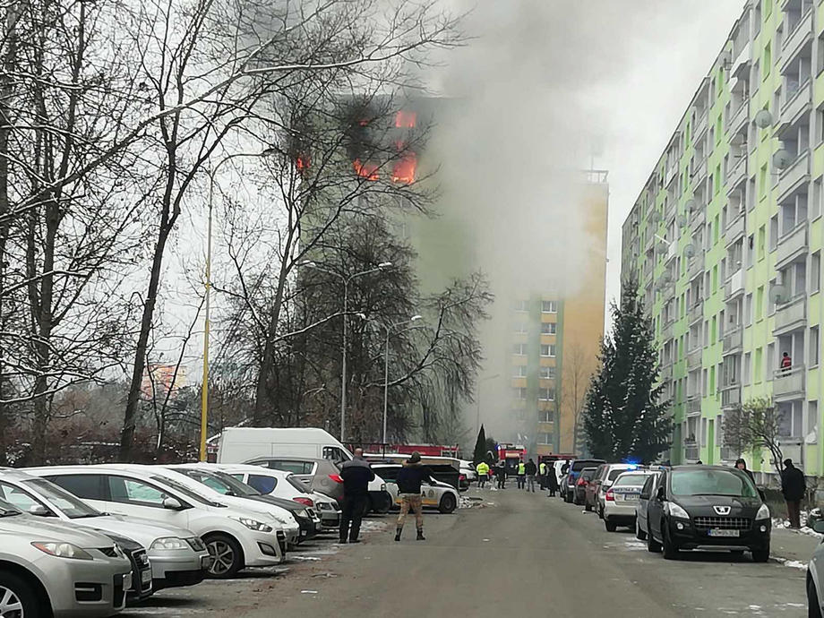 U eksploziji gasa u zgradi 11 mrtvih