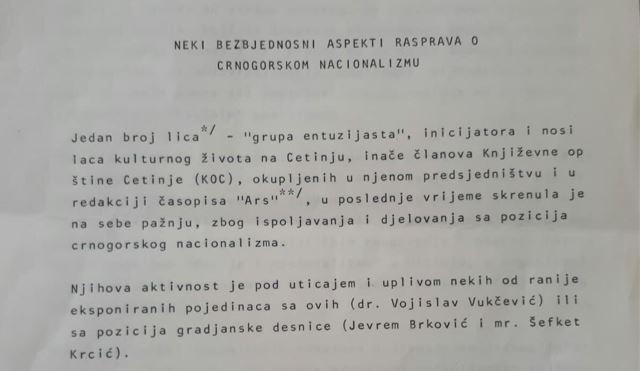 Brkovićeva Etnogenezofobija i SDB