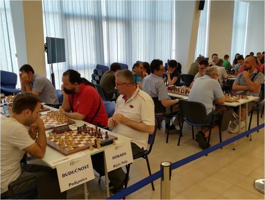 Odigrano treće kolo šahovske Premijer lige: Budućnost i Crnogorac na vrhu