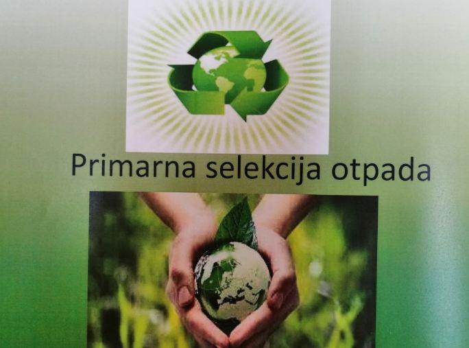 """""""Pravilno razvrstavanje i odlaganje otpada obaveza svih građana Podgorice"""""""