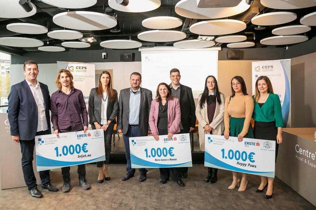 Erste banka i Glavni grad nagradili društvene biznise