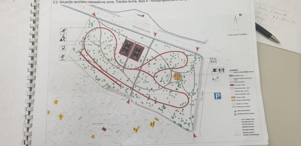 Stvoreni svi uslovi za uređenje park šume Tološi: Evo kako će izgledati
