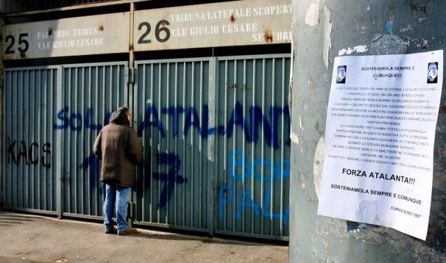 Koronavirus zatvorio tribine na derbiju Serije A
