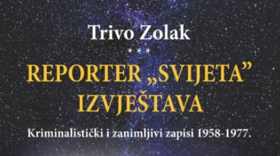 Promocija knjige Triva Zolaka večeras u KIC-u