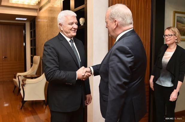 Marković sa holandskim ambasadorom: CG napreduje u reformama, pokazala da je kredibilan partner u Alijansi