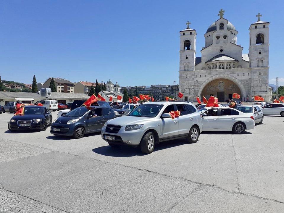 DA JE VJEČNA: Pogledajte slavlje na ulicama Podgorice, Cetinja, Nikšića, Kotora, Bijelog Polja...