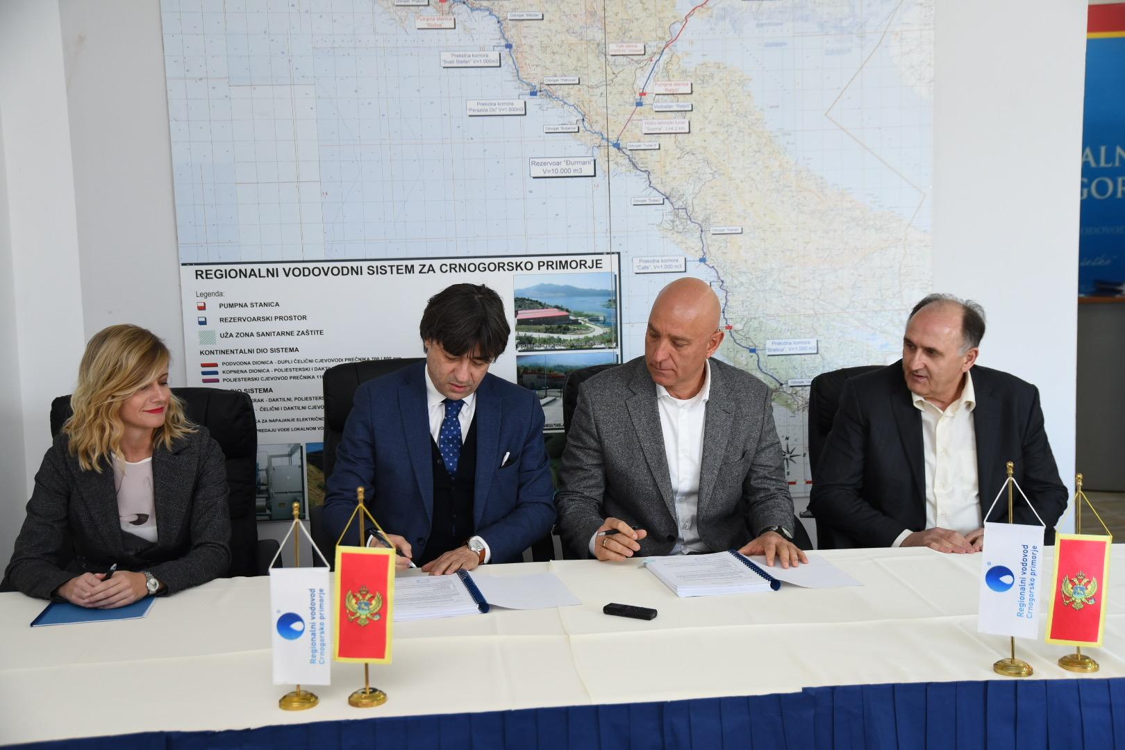 Počinje spajanje Herceg Novog na Regionalni vodovod