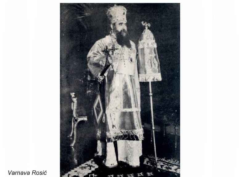 Varnava Rosić, antisemita i ljubitelj Hitlera, četnik, ima trg u Pljevljima. Postaviće mu i bistu?