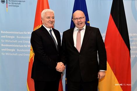 Njemački ministar ekonomije sjutra u Crnoj Gori