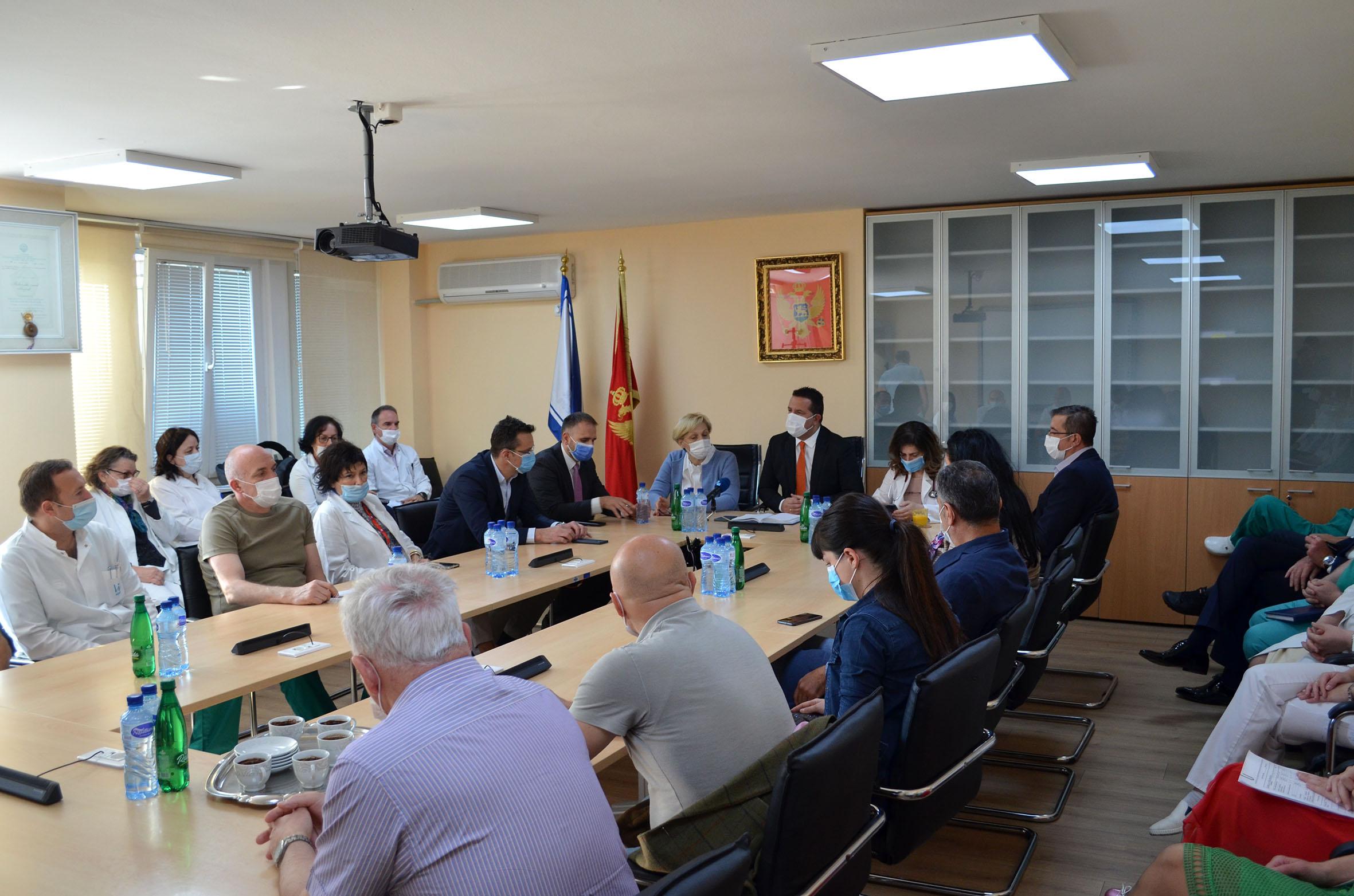 Odlični rezultati saradnje KCCG i cetinjske bolnice u doba pandemije
