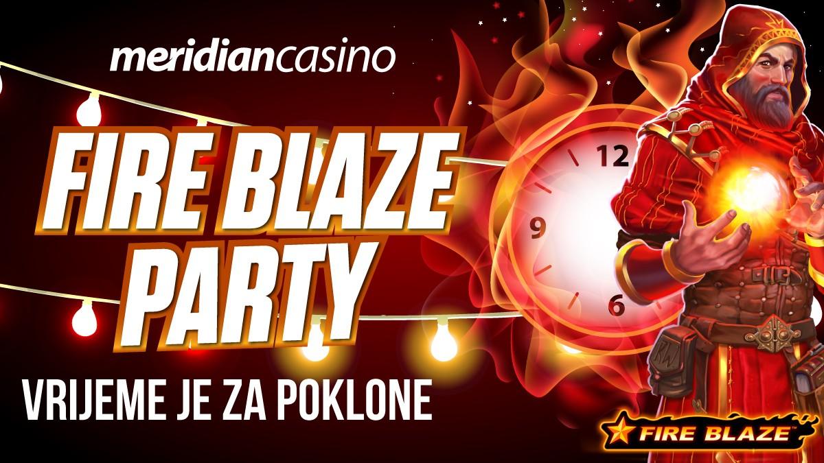 DOĐI NA ŽURKU BESPLATNIH SPINOVA – POČINJE FIRE BLAZE PARTY!