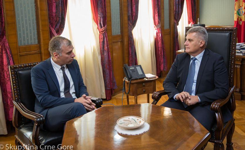 Brajović primio novog ambasadora  Bosne i Hercegovine u Crnoj Gori