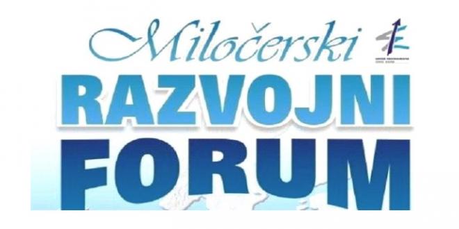 Miločerski razvojni forum sredinom septembra
