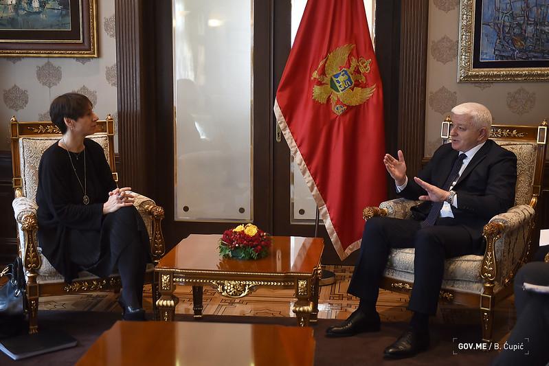 Marković sa direktoricom za Evropu u STO: Crna Gora primjer za cio svijet