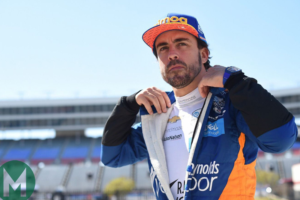 Alonso letio i udario u zid u Indijanapolisu