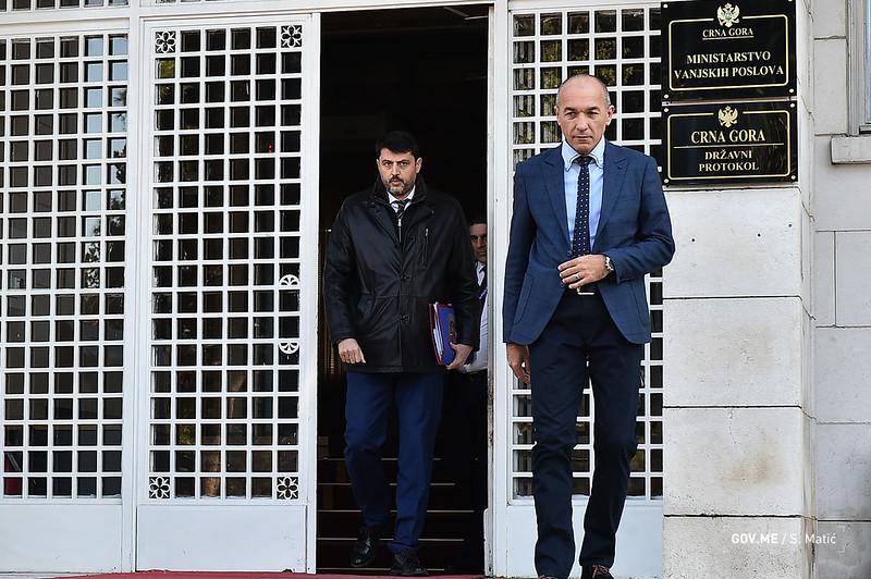 Ambasadoru Srbije protestna nota, Božović odbio da je primi