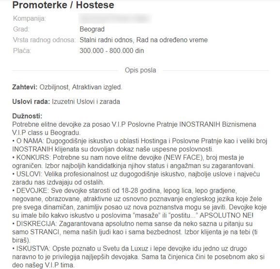 Oglasnik eskort usluge plavi Praha sex