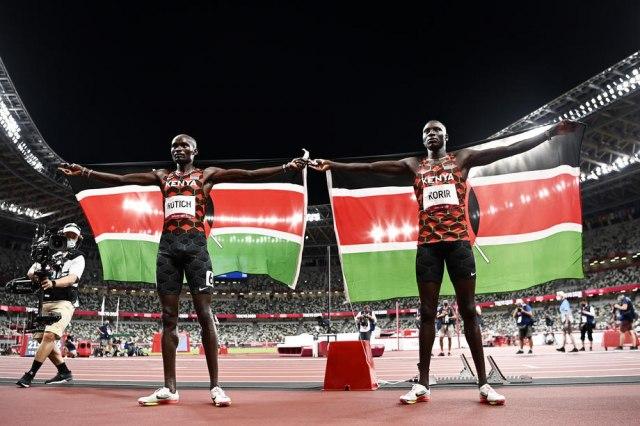 Kenijskim atletičarima zlato i srebro, Tuka šesti na 800 metara