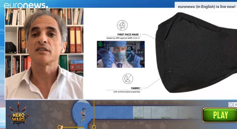 Zaštitna maska koja ubija Covid-19: Može da se opere i do 50 puta