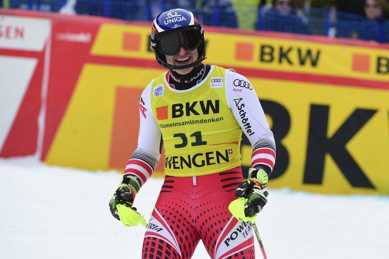 Majer pobjednik kombinacije u Vengenu