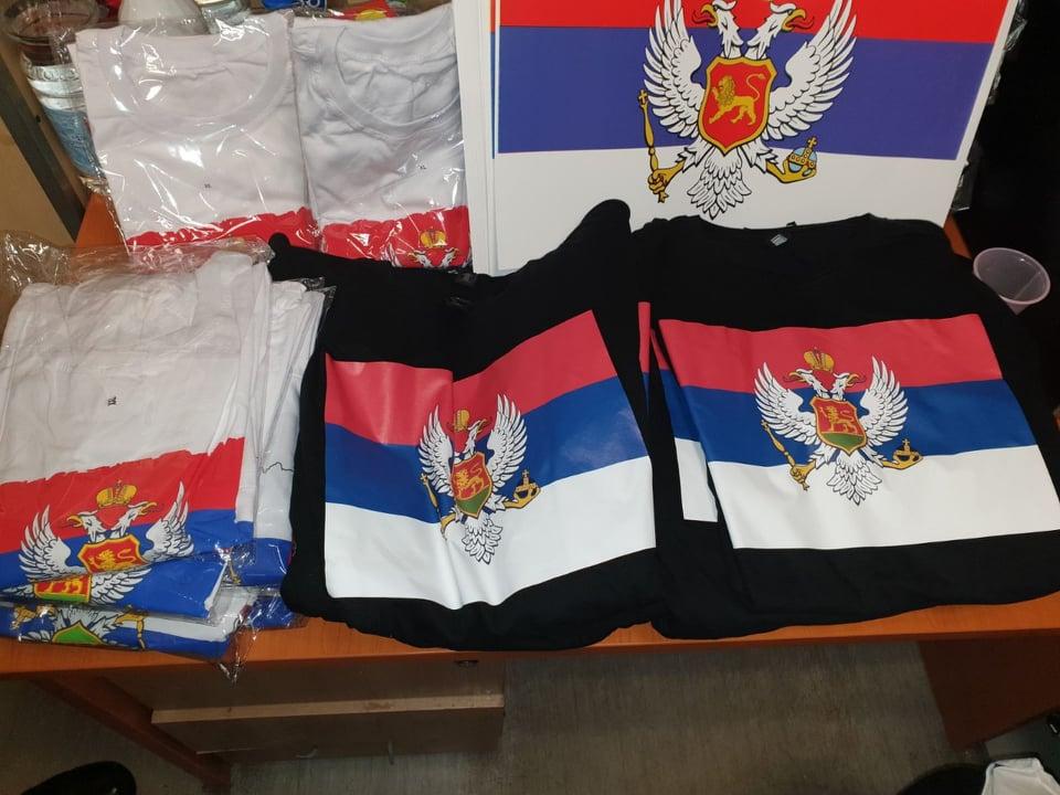 Na GP Dračenovac zaplijenjene majice i naljepnice sa trobojkama