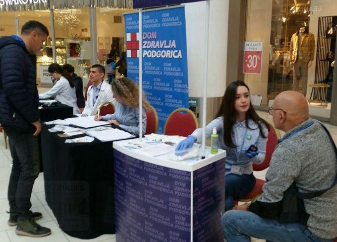 Dom zdravlja Podgorica obilježio Svjetski dan borbe protiv dijabetesa