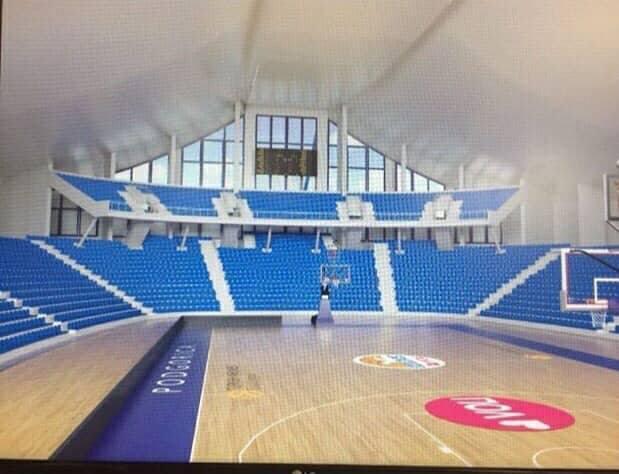 Pogledajte kako će izgledati SC Morača: Dodaju se tribine, biće oko 6.000 mjesta