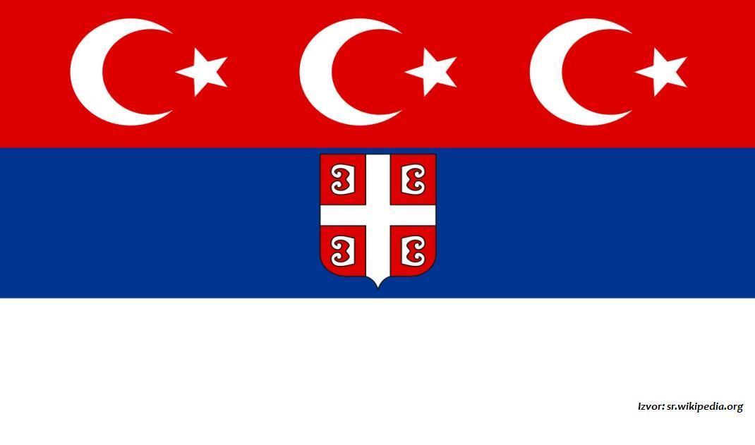 """Piraterija oko """"trobojke"""": Srbi 1835. tvrdili da im je prva zastava - sadašnja hrvatska trobojka"""