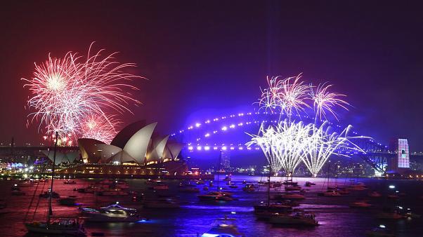 Pogledajte spektakularni vatromet u Sidneju