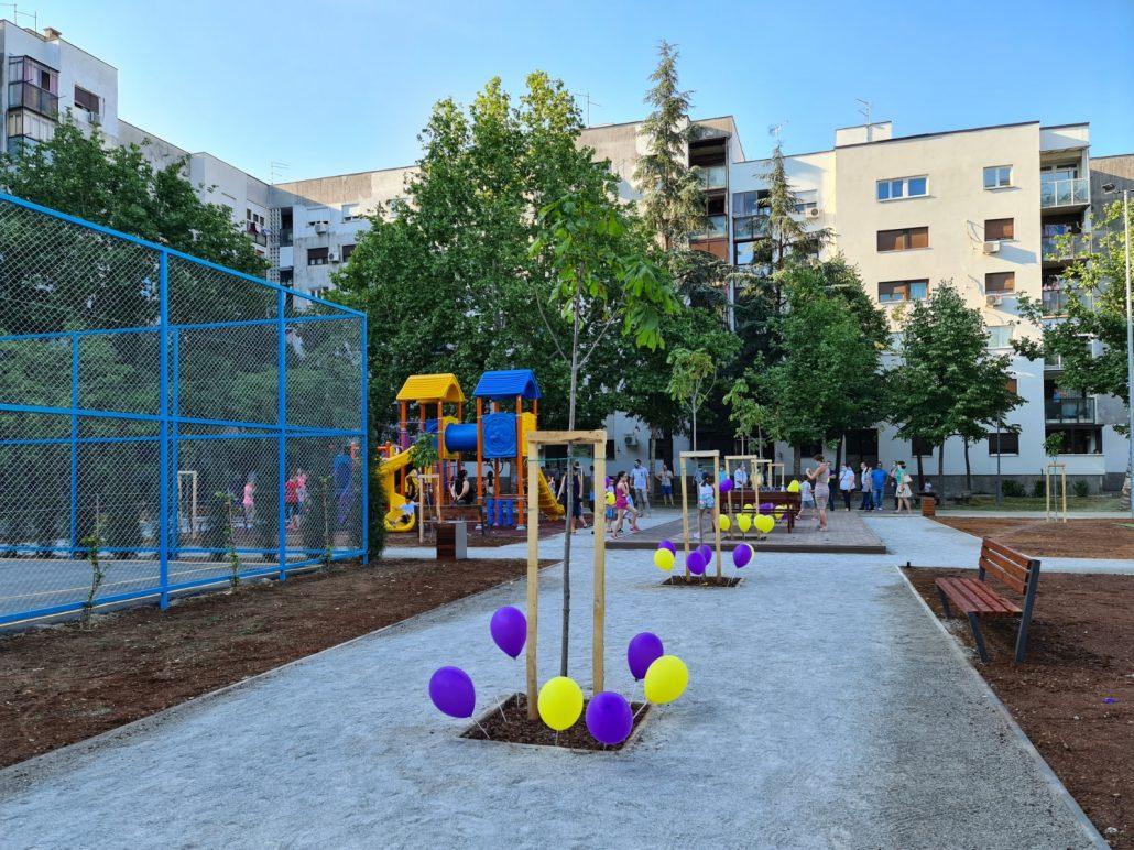 Zabjelo dobilo novi uređeni prostor za rekreaciju i odmor svih generacija