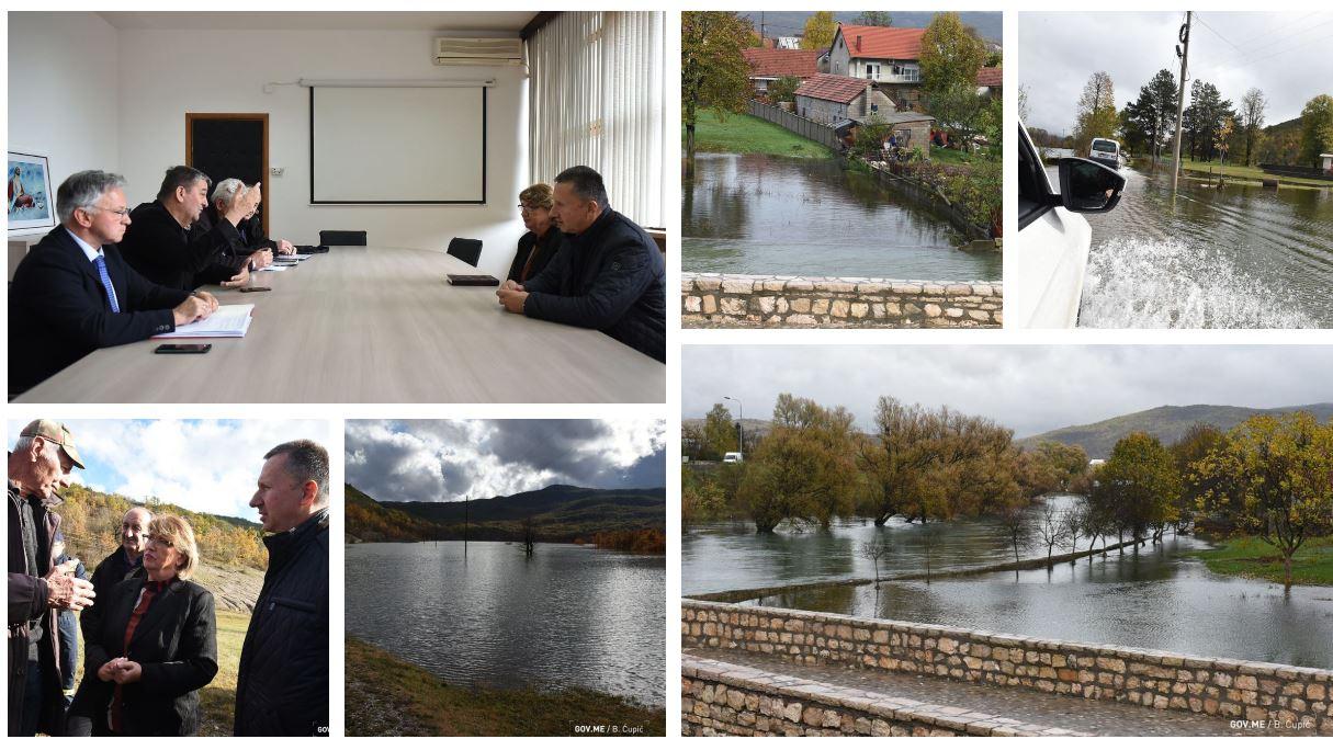 Nadležni obišli ugrožene kuće u Nikšiću: Procjena štete za deset dana