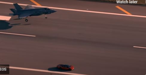 Kakva trka! McLaren protiv lovca F-35