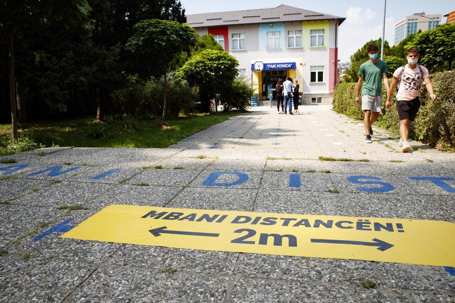 Na Kosovu 71 novoinficirani, jedna osoba preminula