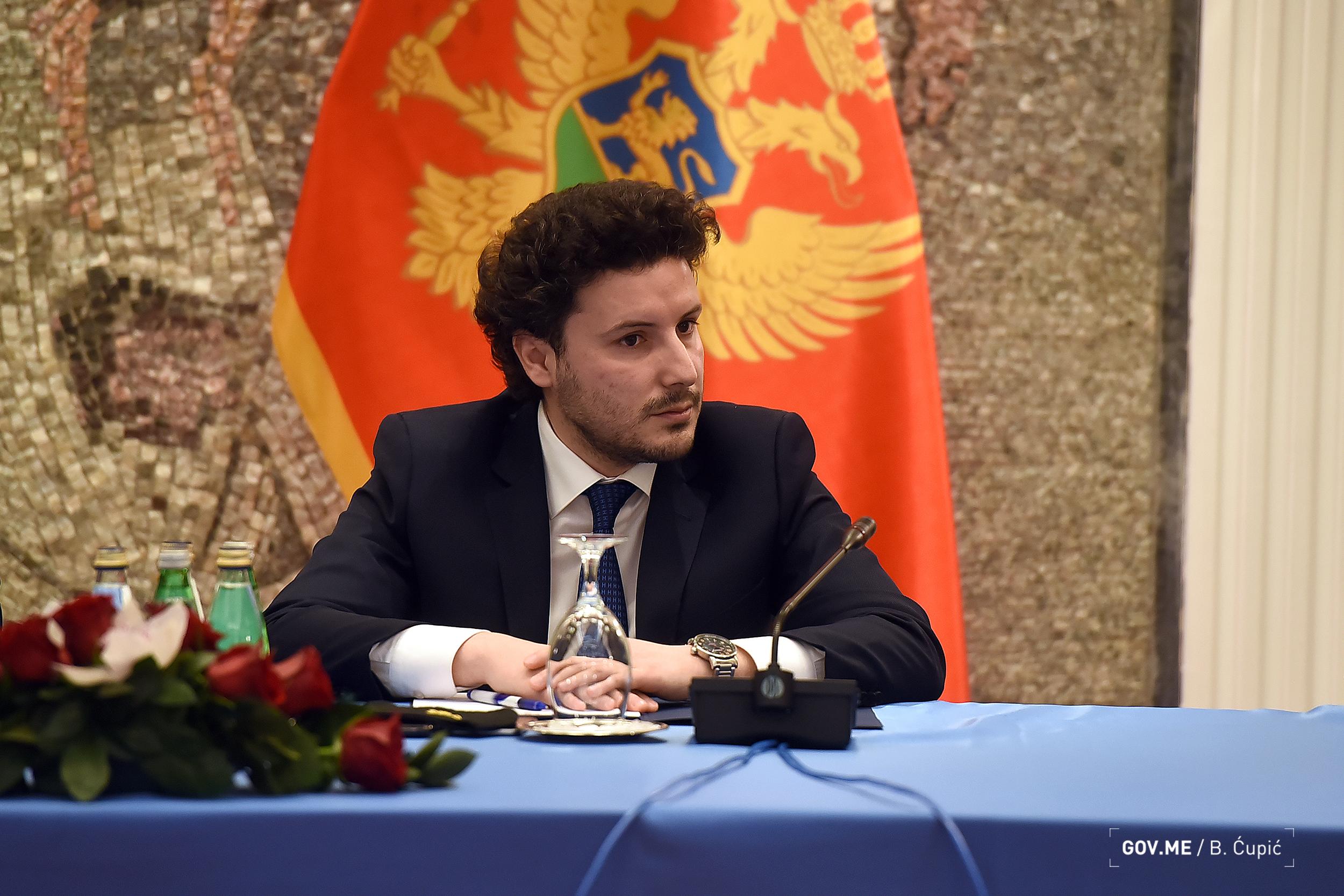 Abazović: Ako neko misli da treba da sruši Vladu neka je sruši, Krivokapić ima moju podršku