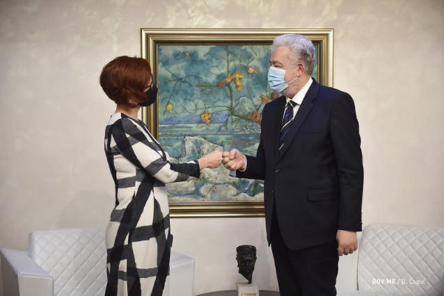 Krivokapić - Gašparikova: Podrška UNDP-a vrlo značajna za Crnu Goru