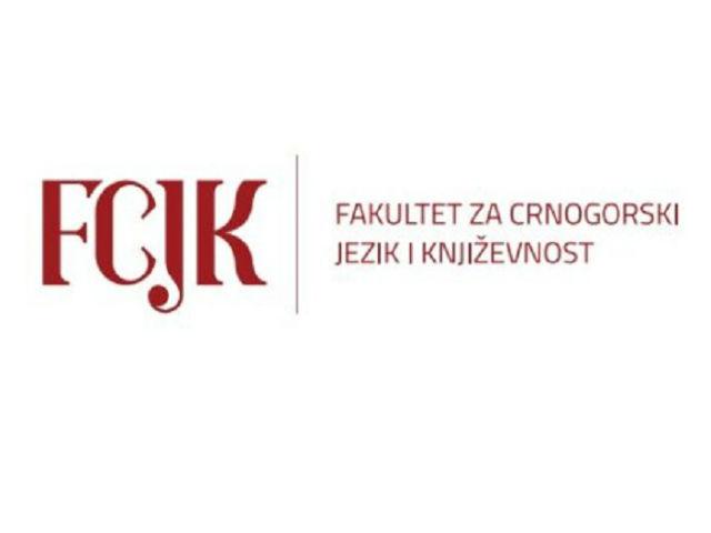 U utorak Konkurs za upis na Fakultet za crnogorski jezik