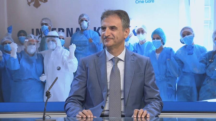 Mugoša: Ako ne bude novih slučajeva, kraj epidemije drugog juna