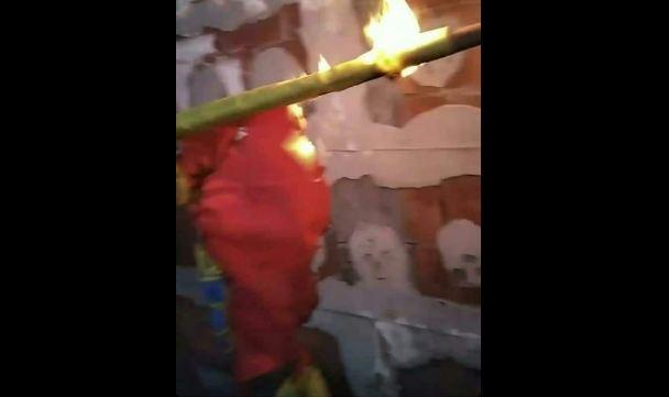 Zbog paljenja zastave u Nikšiću: Krivična prijava protiv dva maloljetnika