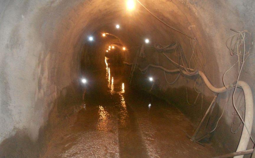 Sanacija hidrotehničkog tunela Mojdež