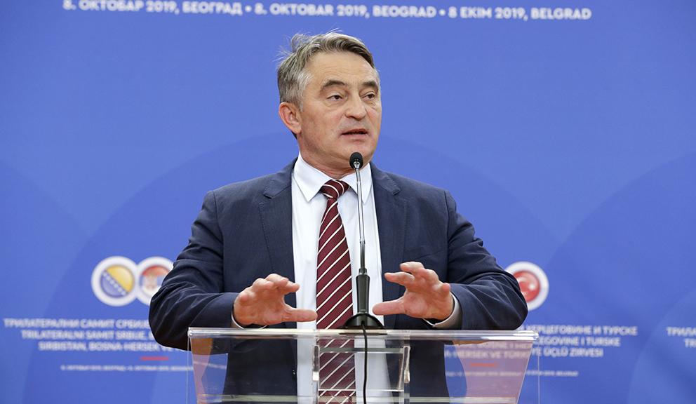 Komšić: Srbija ne može biti gazda na Balkanu