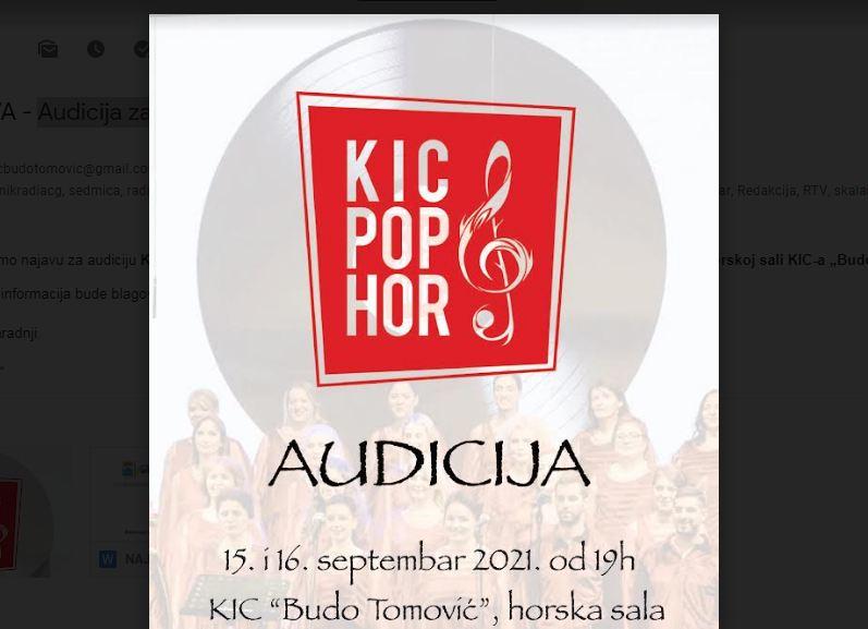 Audicija za KIC pop hor