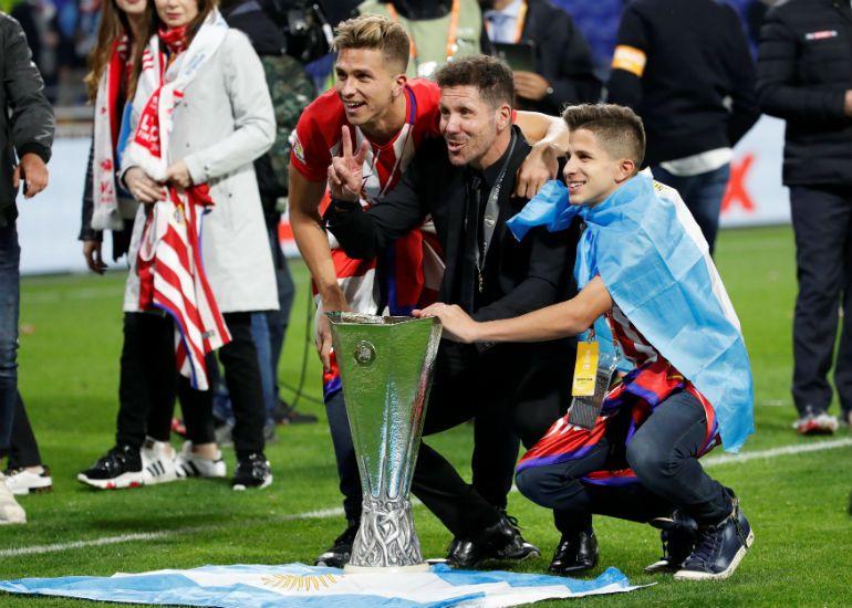 Simeone doveo najmlađeg sina u Atletiko