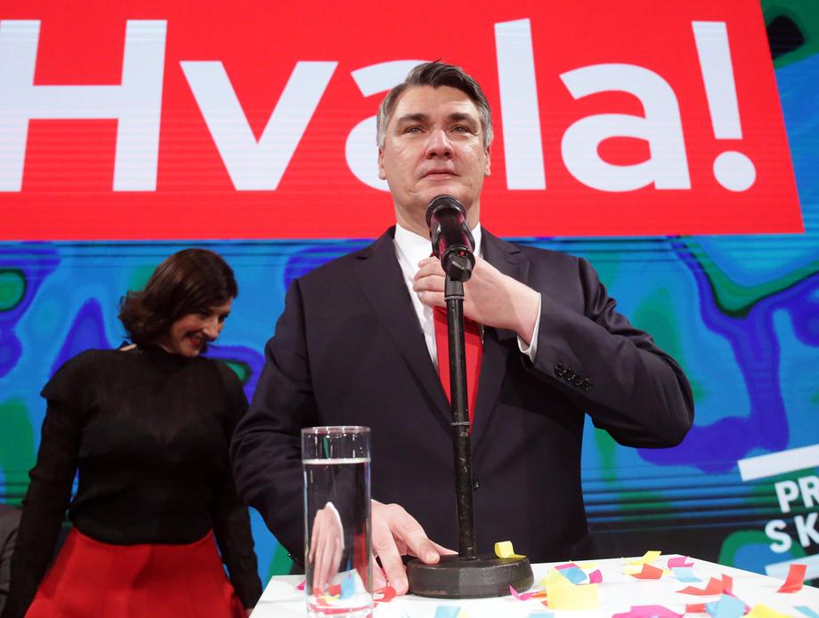 Milanović: Inauguracija će biti mala i u kabinetu