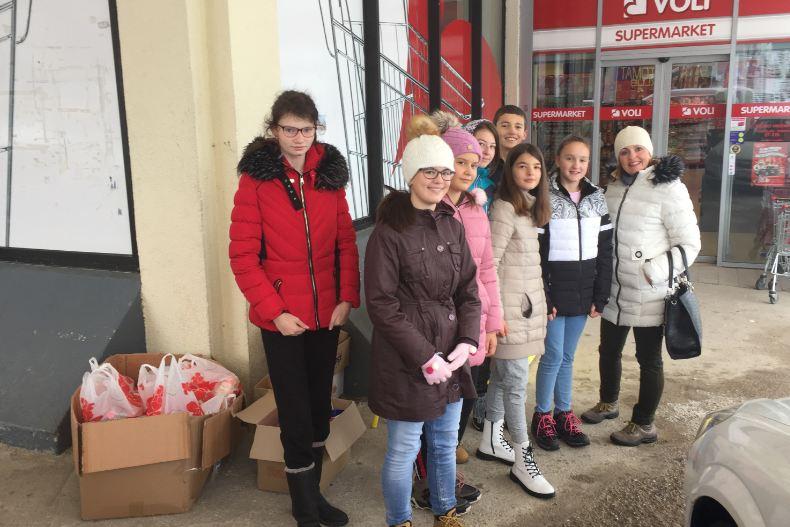 Humanitarna akcija na Žabljaku