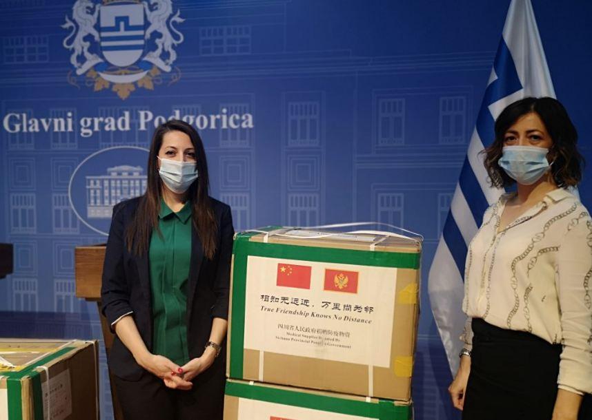 Kineska provincija Sičuan donirala Glavnom gradu 20 000 zaštitnih maski