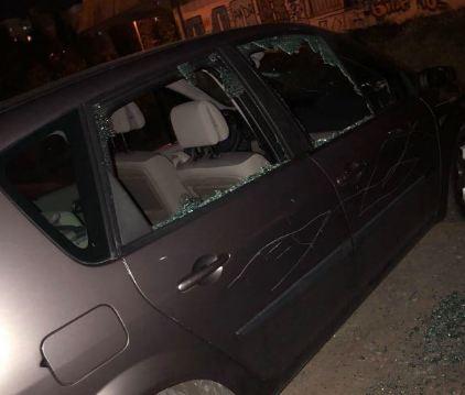 Podgoričanki demolirali automobil, policija traga za počiniocem