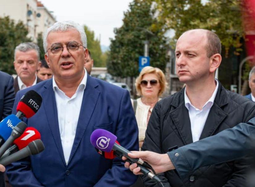 Reagovali Mandić i Knežević: Neće tajkuni ukrasti narodnu volju i sastavljati vladu